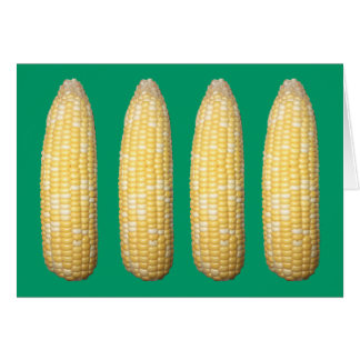 Ears of Corn  Blank Notecard Stationery Note Card