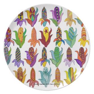 Ears of Corn Plate