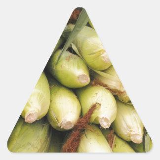 Ears of Corn Triangle Sticker
