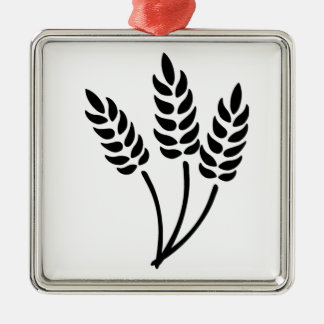 Ears of Wheat Metal Ornament