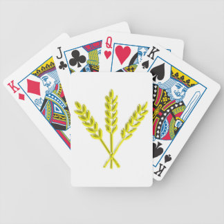 Ears spikes playing cards