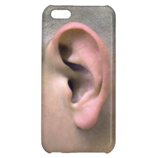 Ears to ya!_left ear iPhone 5C case