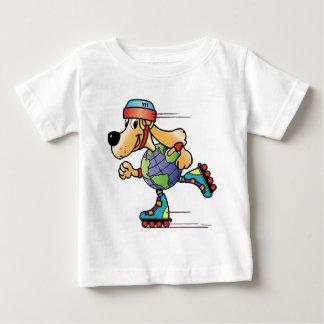 Eart Dog Skating Baby T-Shirt