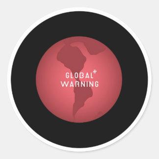Earth2 Classic Round Sticker