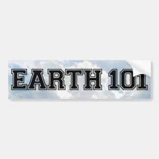 Earth 101 - Multi Products Bumper Sticker