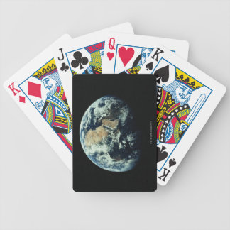 Earth 15 bicycle playing cards