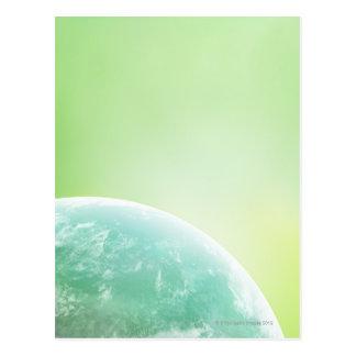 Earth 16 postcard