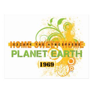 Earth 1969 postcard