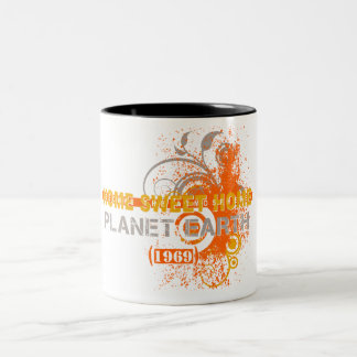 Earth 1969 Two-Tone coffee mug