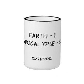 Earth 1 - Apocalypse 0 Mug