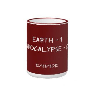 Earth 1 - Apocalypse 0 Mugs