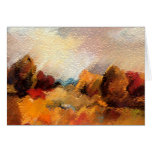 Earth 2 Abstract Art Greeting Cards