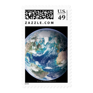 Earth 2 postage stamp