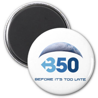 Earth 350 2 inch round magnet