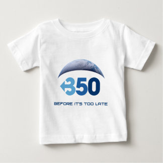 Earth 350 baby T-Shirt