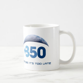 Earth 350 coffee mug