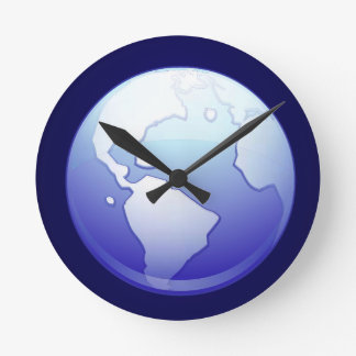 earth-379790  earth blue planet globe world space round wallclocks