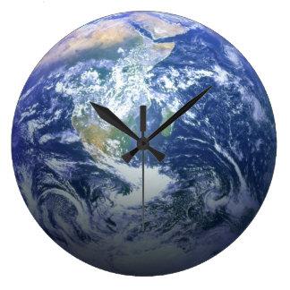 Earth - 3D Effect Large Clock