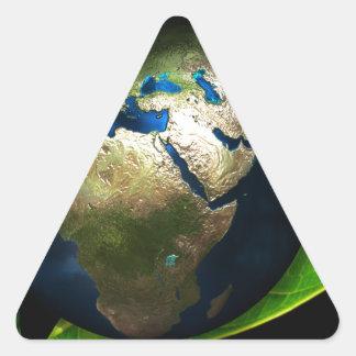 earth-40509 triangle sticker