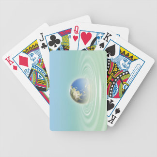 Earth 9 playing cards