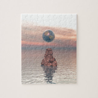 Earth Above The Sea Jigsaw Puzzle