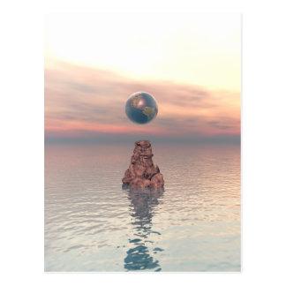 Earth Above The Sea Postcard