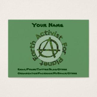 Earth Activist Business Card