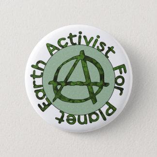 Earth Activist Button