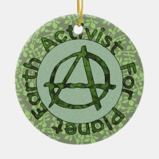 Earth Activist Christmas Tree Ornament