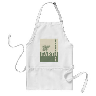 Earth Adult Apron