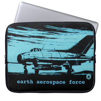 Earth Aerospace Force: Jet fighter Computer Sleeve