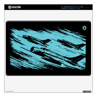 "Earth Aerospace Force: Jet Fighters 11"" MacBook Air Skins"
