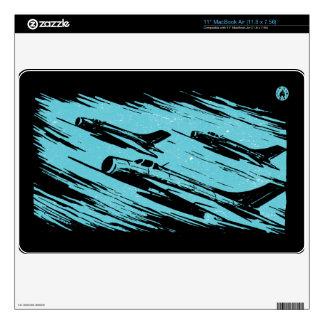 "Earth Aerospace Force: Jet Fighters 11"" MacBook Air Skins"