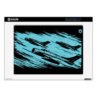 Earth Aerospace Force: Jet Fighters Acer Chromebook Decals