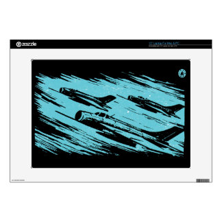 """Earth Aerospace Force: Jet fighters Decal For 15"""" Laptop"""