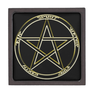 Earth, Air and Fire Pentagram Gift Box