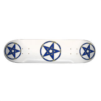 Earth, Air & Fire Pentagram Skateboard