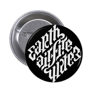EARTH AIR FIRE & WATER PINBACK BUTTON