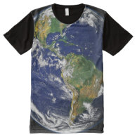 Earth All-Over Print T-shirt