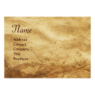 EARTH / ALLEGORY WITH WILD ANIMALS LARGE BUSINESS CARDS (Pack OF 100)