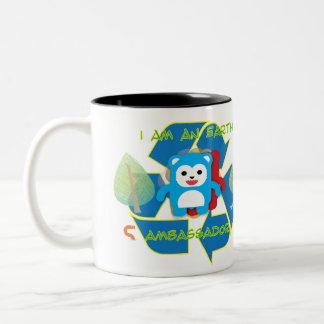 EARTH AMBASSADOR Two-Tone COFFEE MUG