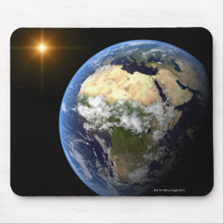 Earth and a Bright Star 2 Mousepad