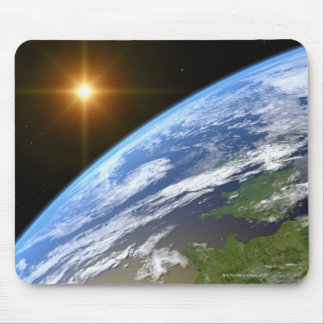 Earth and a Bright Star 3 Mouse Pad