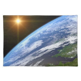Earth and a Bright Star 3 Placemat