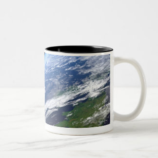 Earth and a Bright Star 3 Two-Tone Coffee Mug