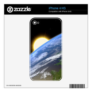 Earth and a Bright Star Skin For The iPhone 4S