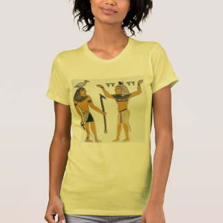 Earth and Air Geb and Shu Egyption T Shirts