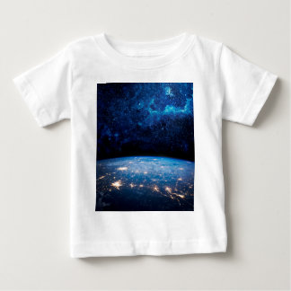 Earth and Galaxy Baby T-Shirt