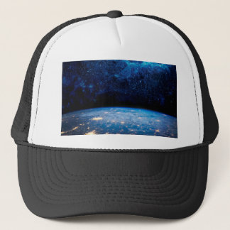 Earth and Galaxy Trucker Hat