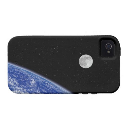 Earth and Moon 2 iPhone 4 Covers